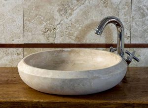 travertine basins