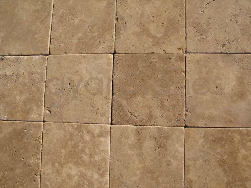 Noce Travertine Tumbled Rayanstones