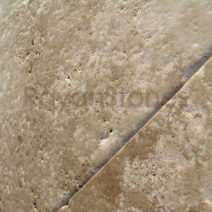 cream travertine brushed unfilled