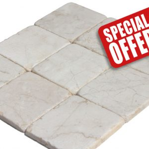 light marble tumbled special offer