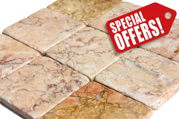 light pink marble tumbled special offer