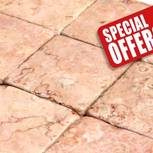 pink marble tumbled special offer