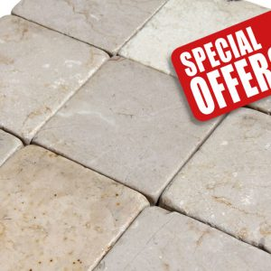 cream marble tumbled special offer